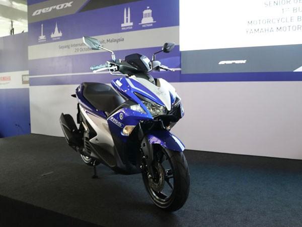 Các mẫu xe máy vừa có mặt tại thị trường Việt Nam ảnh 5