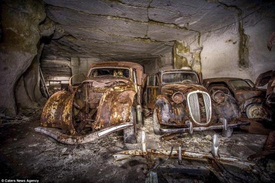"""""""Kho báu"""" xe cổ bị lãng quên 7 thập kỷ ảnh 2"""