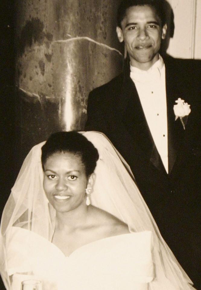 Những điều ít biết về chuyện tình của vợ chồng Tổng thống Obama ảnh 2