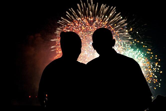 Những điều ít biết về chuyện tình của vợ chồng Tổng thống Obama ảnh 10