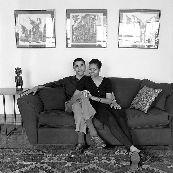Những điều ít biết về chuyện tình của vợ chồng Tổng thống Obama ảnh 3