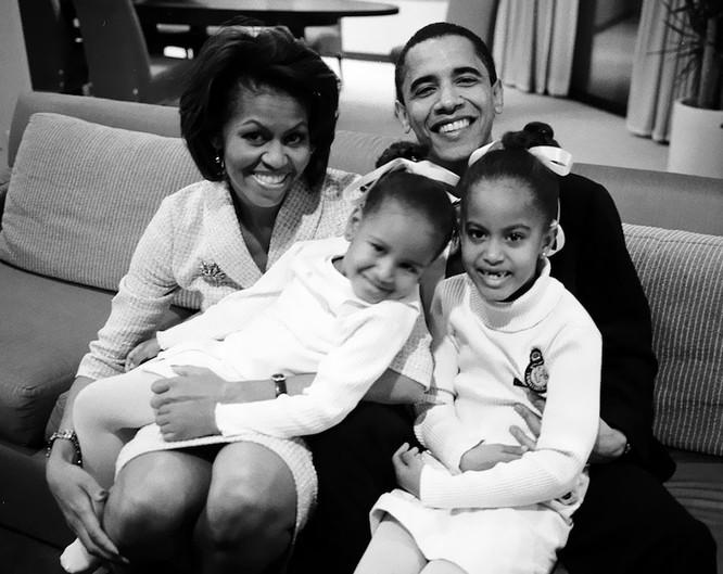 Những điều ít biết về chuyện tình của vợ chồng Tổng thống Obama ảnh 4