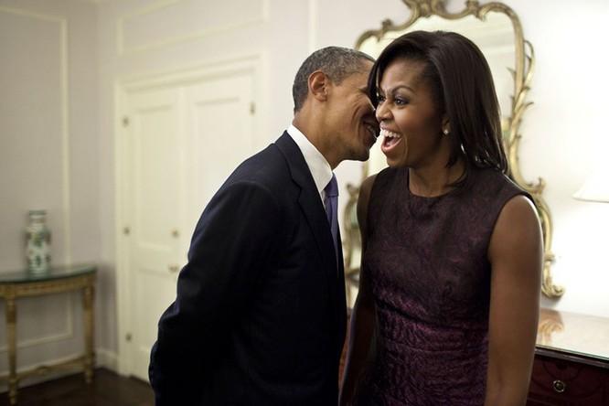 Những điều ít biết về chuyện tình của vợ chồng Tổng thống Obama ảnh 12