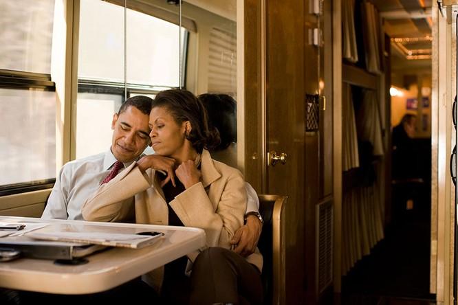 Những điều ít biết về chuyện tình của vợ chồng Tổng thống Obama ảnh 13