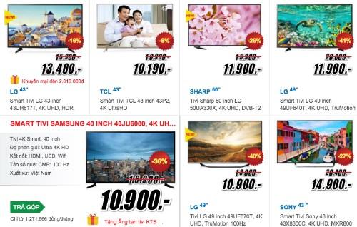 """TV 4K giá rẻ """"đổ bộ"""" vào Việt Nam cuối năm ảnh 1"""