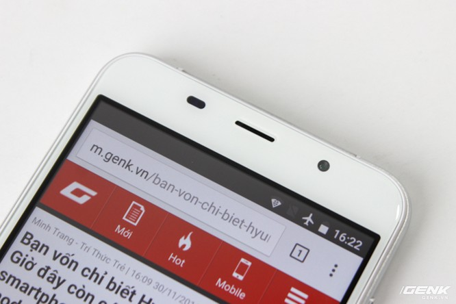Cận cảnh smartphone đầu tiên của Huyndai tại Việt Nam ảnh 6