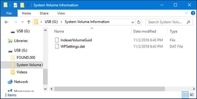 Giải ngố về thư mục System Volume Information trong Win ảnh 4