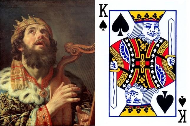 Những gương mặt bí ẩn trên các quân bài J, Q, K ảnh 4