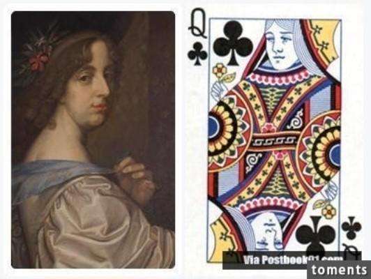 Những gương mặt bí ẩn trên các quân bài J, Q, K ảnh 5