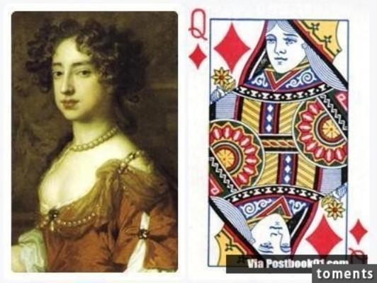 Những gương mặt bí ẩn trên các quân bài J, Q, K ảnh 6
