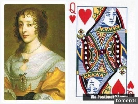 Những gương mặt bí ẩn trên các quân bài J, Q, K ảnh 7