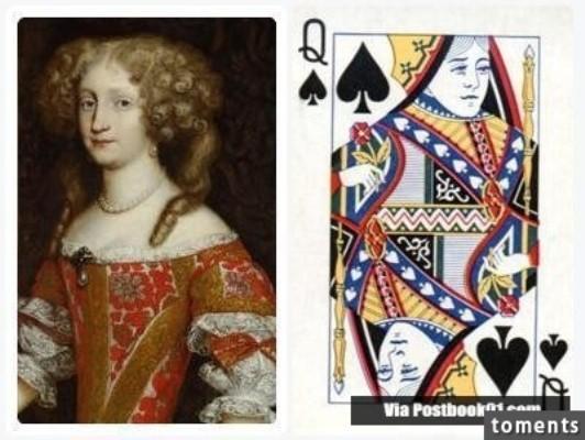 Những gương mặt bí ẩn trên các quân bài J, Q, K ảnh 8