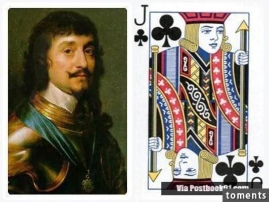Những gương mặt bí ẩn trên các quân bài J, Q, K ảnh 9