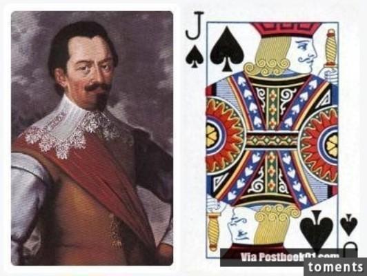 Những gương mặt bí ẩn trên các quân bài J, Q, K ảnh 12