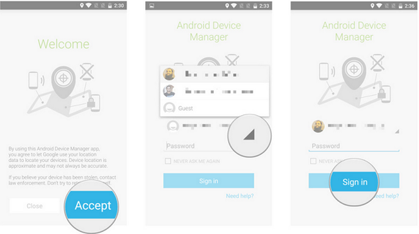 Cách tìm smartphone mất trộm bằng ứng dụng quản lý điện thoại ảnh 2