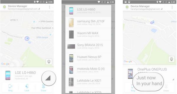 Cách tìm smartphone mất trộm bằng ứng dụng quản lý điện thoại ảnh 3
