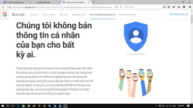 Làm thế nào để hạn chế Google theo dõi bạn? ảnh 2