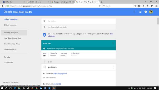 Làm thế nào để hạn chế Google theo dõi bạn? ảnh 5
