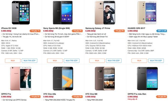 """Thị trường smartphone: """"Nóng"""" cuộc chiến trung cấp ảnh 1"""