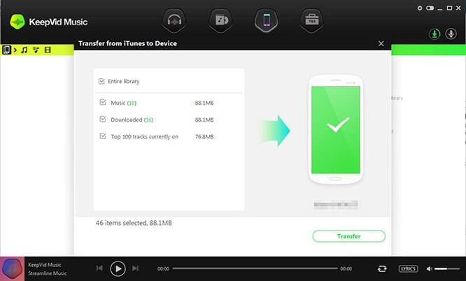 Tải và thu âm nhạc số với phần mềm KeepVid Music ảnh 7