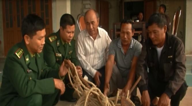 Tàu Trung Quốc phá ngư lưới cụ của 4 tàu cá Việt Nam ảnh 1