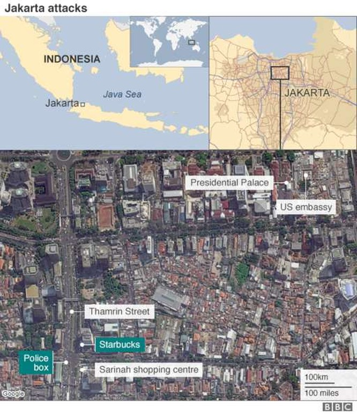 Phát ngôn chính thức của cảnh sát Indonesia về vụ khủng bố Jakarta ảnh 1