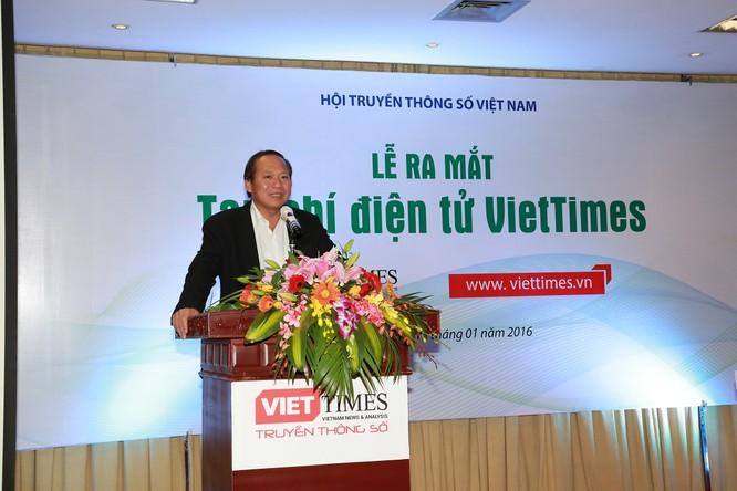"""""""VietTimes là cơ quan báo chí có hướng phát triển đầy triển vọng!"""" ảnh 3"""