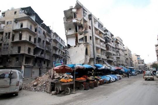 Phương Tây ép Nga ngừng ném bom ở Syria ảnh 1