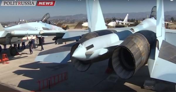 Tiêm kích Su-35S vừa sang Syria đã đắt hàng ảnh 2