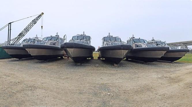 Tàu tuần tra hãng Mỹ đóng cho Việt Nam đang chạy thử ảnh 1