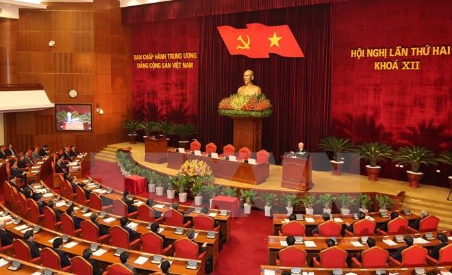 Bế mạc Hội nghị TW 2: Kiện toàn chức danh lãnh đạo Nhà nước ảnh 1
