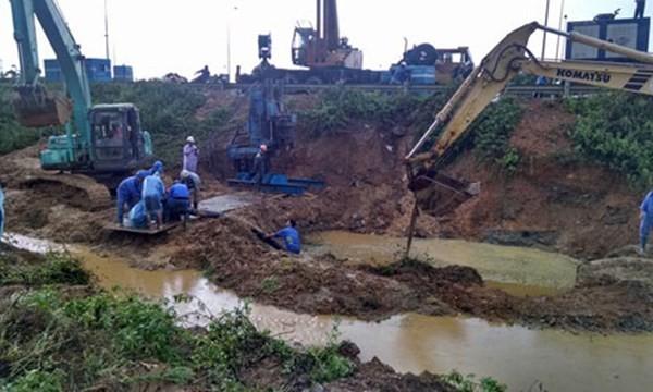 Nhà thầu Trung Quốc trúng thầu dự án đường ống nước sông Đà mới ảnh 1