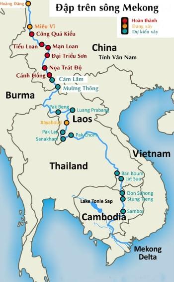 Lào xả nước đập thuỷ điện giúp Việt Nam chống hạn ảnh 1