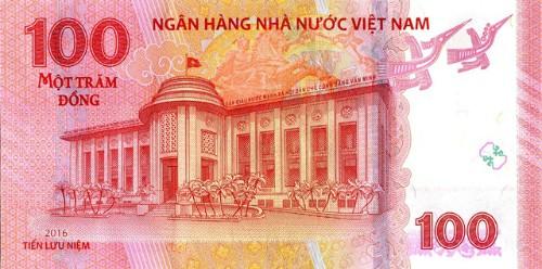 NHNN in tiền lưu niệm 100 đồng để kỷ niệm sinh nhật thứ 65 ảnh 1