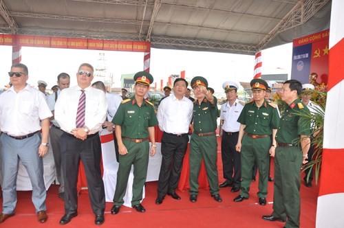 Việt Nam hạ thủy thêm hai tàu tên lửa tấn công nhanh Molnya ảnh 2