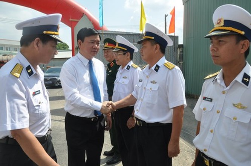 Việt Nam hạ thủy thêm hai tàu tên lửa tấn công nhanh Molnya ảnh 1