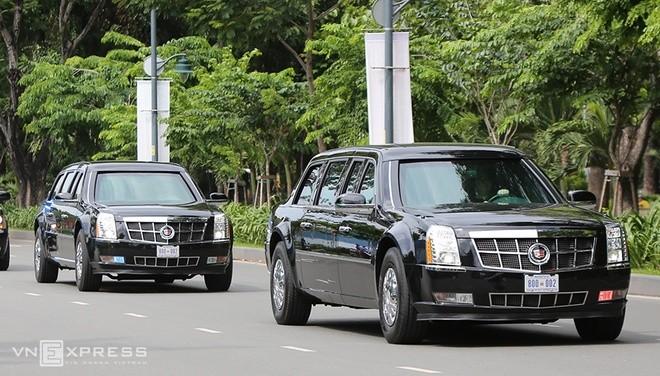 Limousine The Beast của Tổng thống Obama xuống phố Sài Gòn ảnh 7