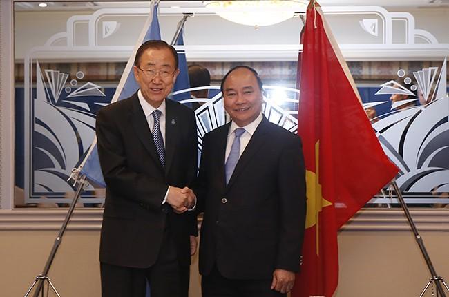 Thủ tướng hội kiến với nhiều lãnh đạo quốc tế trong chuyến công du Nhật Bản ảnh 1