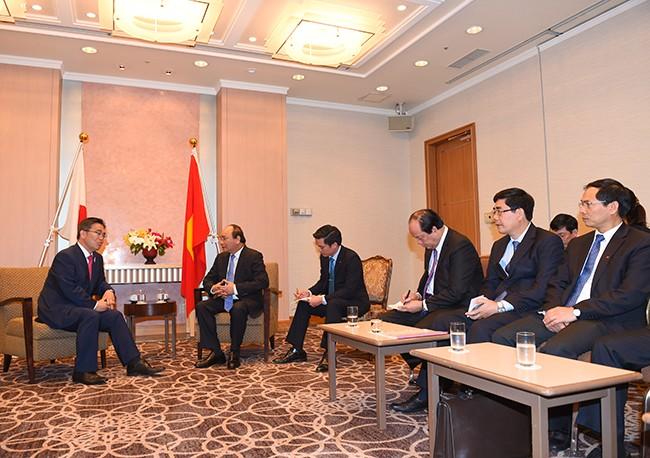 Thủ tướng hội kiến với nhiều lãnh đạo quốc tế trong chuyến công du Nhật Bản ảnh 4