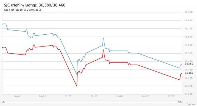 Giá vàng hôm nay (25/7): Giới phân tích lạc quan, SJC vẫn trôi ảnh 2