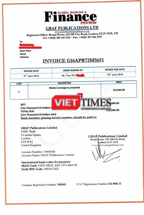 Có hay không chuyện ngân hàng Việt đi mua giải thưởng quốc tế? ảnh 1