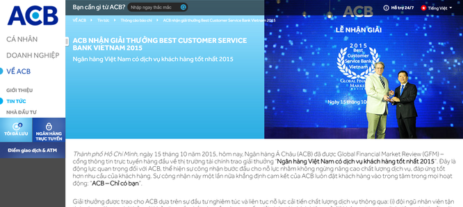 Có hay không chuyện ngân hàng Việt đi mua giải thưởng quốc tế? ảnh 6