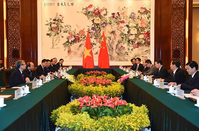 """Phó Thủ tướng TQ Trương Cao Lệ: Mong muốn Việt - Trung """"kiểm soát tốt bất đồng"""" ảnh 1"""