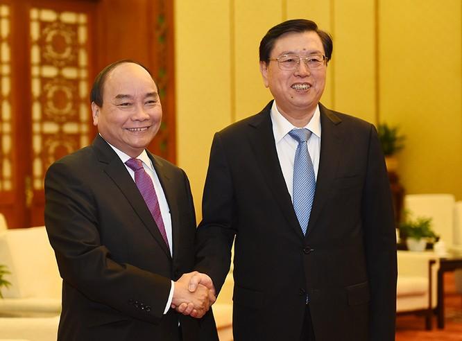 Thủ tướng Nguyễn Xuân Phúc hội đàm với nhiều lãnh đạo cấp cao Trung Quốc tại Bắc Kinh ảnh 1