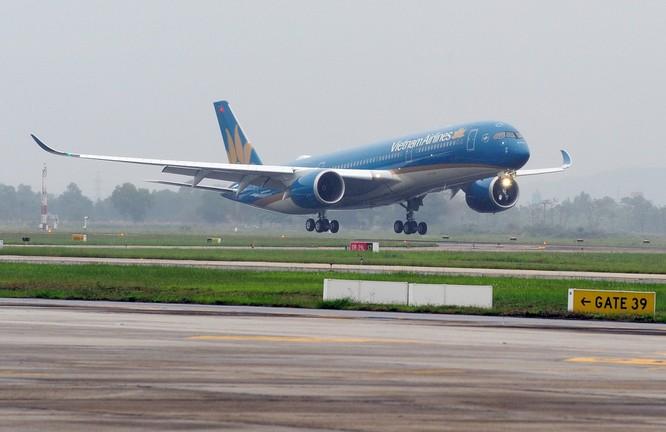 Vietnam Airlines đón nhận máy bay Airbus A350 thứ 5 ảnh 1