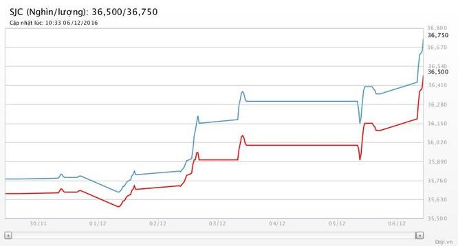 Giá vàng SJC ngược chiều thế giới, tăng nóng vì tin đồn thất thiệt ảnh 2