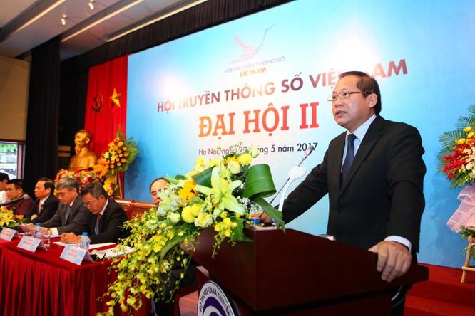 Thứ trưởng Bộ TT&TT Nguyễn Minh Hồng đắc cử Chủ tịch Hội Truyền thông số Việt Nam ảnh 4