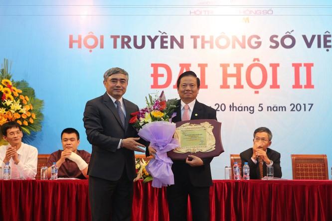 Thứ trưởng Bộ TT&TT Nguyễn Minh Hồng đắc cử Chủ tịch Hội Truyền thông số Việt Nam ảnh 5