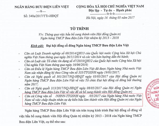 LienVietPostBank: Ông Dương Công Minh từ nhiệm, ông Nguyễn Đức Hưởng quay về ảnh 1