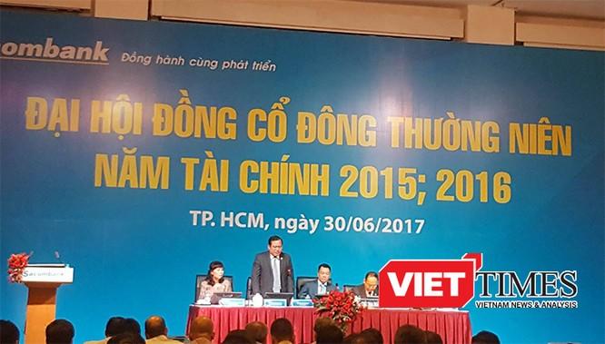 Ông Dương Công Minh đắc cử Chủ tịch HĐQT Sacombank ảnh 9
